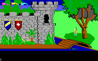 King's Quest I Ending